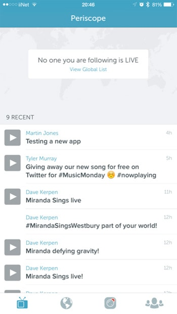 periscope replay feature