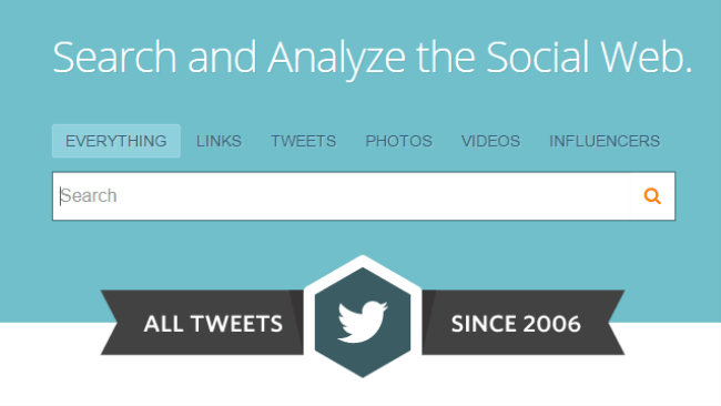 1 Twitter Search  Monitoring    Analytics