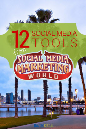 12 Social Media Tools from Social Media Marketing World (portrait)