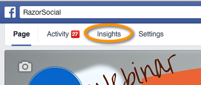 Access Facebook Insights
