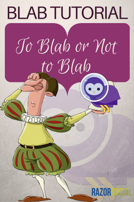 BLAB Tutorial-To Blab or not to Blab