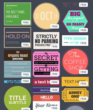 Canva Text Images