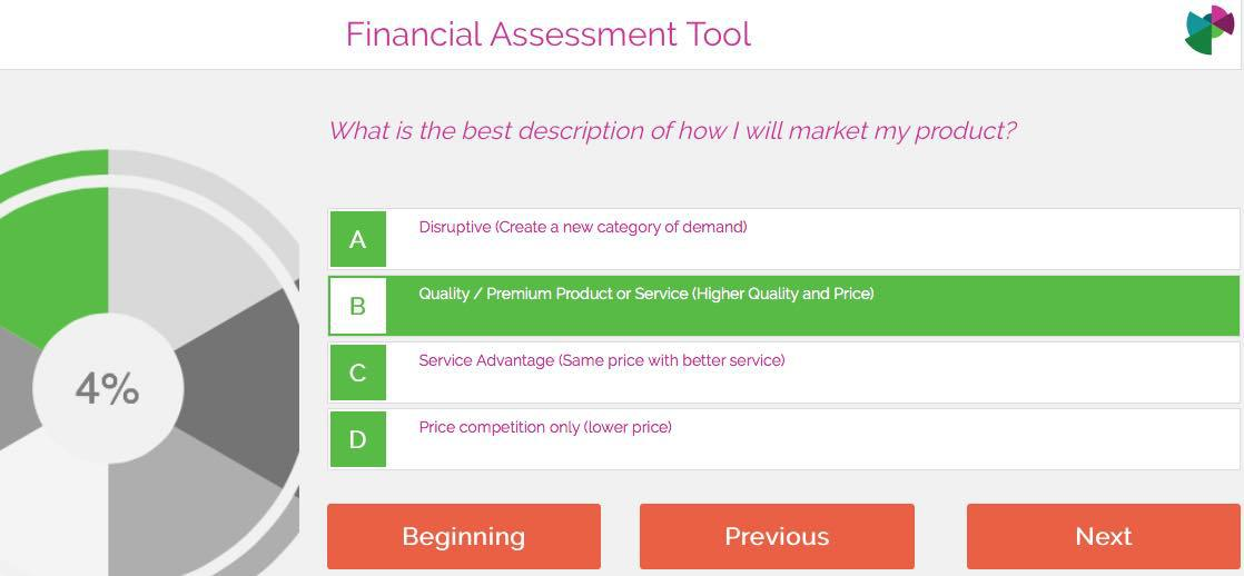 Financial assessment
