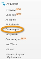Google analytics campaign
