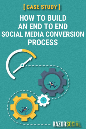 build end to end social media conversion