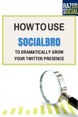 socialbro to grow your twitter presence