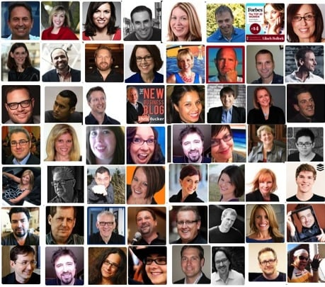 A selection of great bloggers