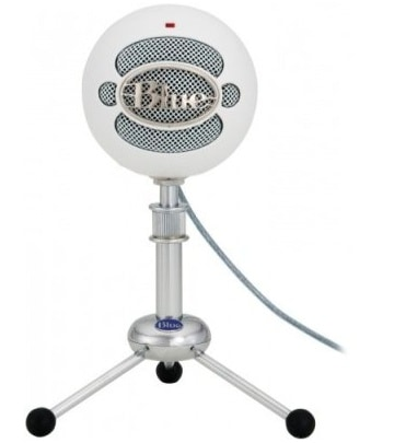 The Blue Snowball is a Very Good Quality External Microphone