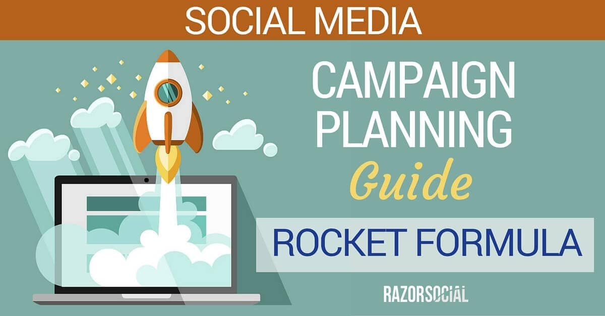 Social Media Campaign - The Rocket Formula Guide
