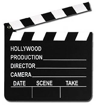Video Production Process - clapperboard