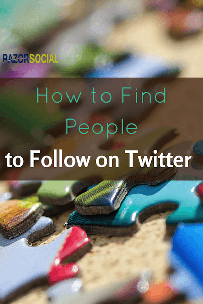find people on twitter