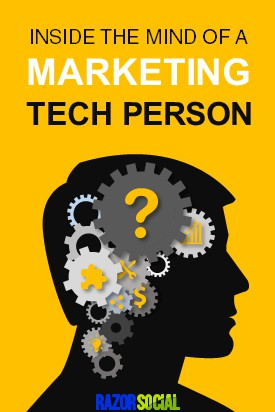 inside the mind of marketing tech person