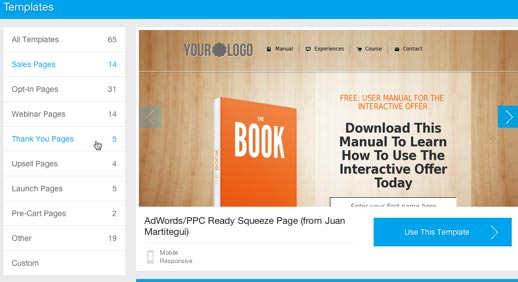 Landing page software review leadpages vs unbounce leadpages templates choose pronofoot35fo Choice Image
