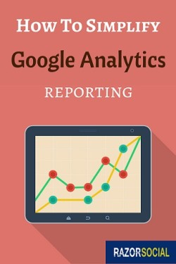 simple google analytics reporting