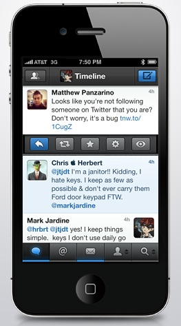 Mike Stelzner - Tweetbot