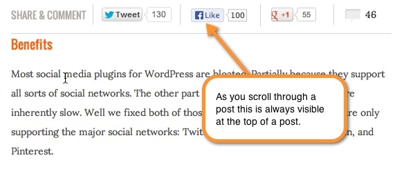 wpbeginner social share plugin