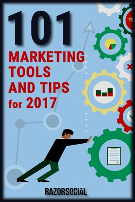 101 Digital Marketing Tools and Tips