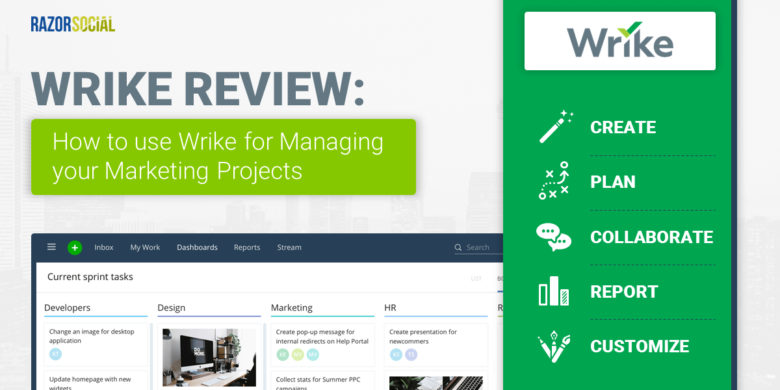 Wrike Review: How to use Wrike for Managing your Marketing Projects