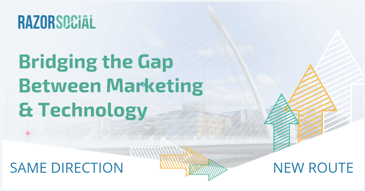 Bridging the gap between marketing and technology
