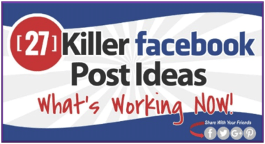 27 killer FB ideas