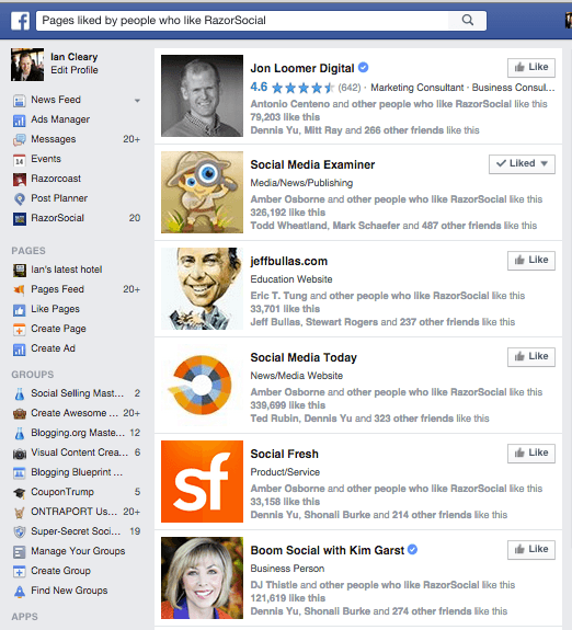 Facebook knowledge graph