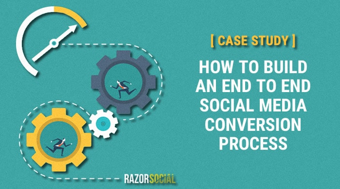 building end to end social media conversion