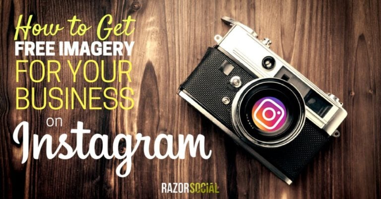 How to Get Imagery for Your Business on Instagram (portrait)