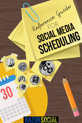 A Reference Guide for Social Media Scheduling