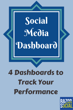 Social Media Dashboard - 4 Dashboards to Track your performance