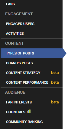 Beta functionality for SoTrender